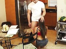 Mom Teaches Son's Girlfriend To Give Head