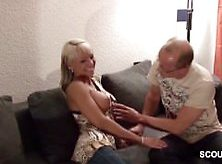 German Step-Dad Fucks Step-Daughter When Mom Away